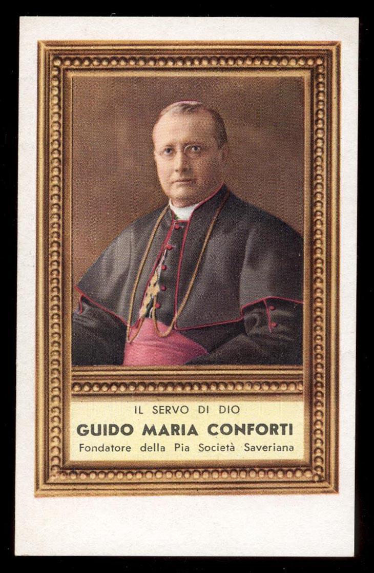santino-holy card S.GUIDO MARIA CONFORTI | eBay