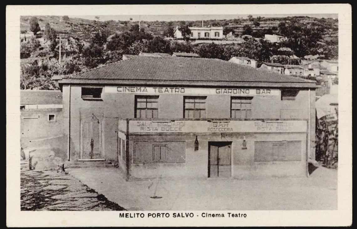 cartolina MELITO PORTO SALVO cinema teatro | eBay